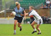 19 July 2009; Amy McGuinness, Dublin, in action against Brianne Leahy, Kildare. TG4 Ladies Football Leinster Senior Championship Final, Dublin v Kildare, Dr. Cullen Park, Carlow. Picture credit: Pat Murphy / SPORTSFILE