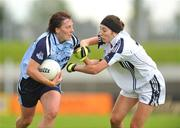 19 July 2009; Lyndsey Peat, Dublin, in action against Louise Keatley, Kildare. TG4 Ladies Football Leinster Senior Championship Final, Dublin v Kildare, Dr. Cullen Park, Carlow. Picture credit: Pat Murphy / SPORTSFILE