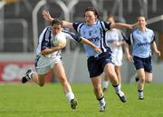 19 July 2009; Noelle Earley, Kildare, in action against Lyndsey Peat, Dublin. TG4 Ladies Football Leinster Senior Championship Final, Dublin v Kildare, Dr. Cullen Park, Carlow. Picture credit: Pat Murphy / SPORTSFILE