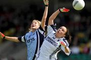 19 July 2009; Aoife Herbert, Kildare, in action against Colleen Barrett, Dublin. TG4 Ladies Football Leinster Senior Championship Final, Dublin v Kildare, Dr. Cullen Park, Carlow. Picture credit: Pat Murphy / SPORTSFILE