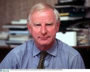 1996; Pat Hickey, President of the Olympic Council of Ireland. Athletics. Picture Credit: Ray McManus/SPORTSFILE
