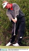 Philip Walton driving from the 15th in the Smurfit. Golf. Picture credit; SPORTSFILE