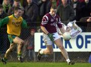 19 November 2000; Crossmolina's Liam Moffatt, Football. Picture credit; Ray McManus/SPORTSFILE *EDI*
