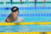 26 July 2009; Ireland's Grainne Murphy, from New Ross, Co. Wexford, in action during Heat 5 of the Women's 200m Individual Medley. Grainne set a new Irish Senior Record with a time of 2:13.64. The record was previously set by Michelle Smith 13 years ago when she won Gold at the Atlanta Olympics. FINA World Swimming Championships Rome 2009, Women's 200m Individual Medley, Heat 5, Foro Italico, Rome, Italy. Picture credit: Brian Lawless / SPORTSFILE