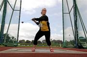 1 August 2009; Eileen O'Keeffe, Kilkenny City Harriers A.C., on her way to winning the Women's Hammer. Woodie's DIY / AAI National Senior Track & Field Championships - Saturday. Morton Stadium, Santry, Dublin. Picture credit: Stephen McCarthy / SPORTSFILE