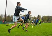 14 November 2015; Ireland's Rory O'Carroll in action during squad training. Ireland Squad EirGrid International Rules Training. Carton House, Maynooth, Co. Kildare. Picture credit: Ramsey Cardy / SPORTSFILE