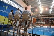14 November 2015; A general view during the Irish Open Diving Championships Day 2. National Aquatics Centre, Blanchardstown, Dublin. Picture credit: Paul Mohan / SPORTSFILE