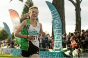 22 November 2015; Fionnuala McCormack, Kilcoole A.C., on her way to winning the Senior Women's event. GloHealth National Cross Country Championships, Santry Demesne, Dublin. Picture credit: Cody Glenn / SPORTSFILE