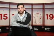 24 November 2015; Ulster's Ricky Lutton following a press conference. Kingspan Stadium Park, Belfast. Picture credit: John Dickson / SPORTSFILE