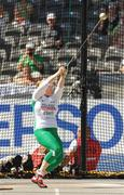 20 August 2009; Ireland's Eileen O'Keeffe in action during qualifying for the Women's Hammer Final where she threw a mark of 63.20m but failed to make the final. 12th IAAF World Championships in Athletics, Olympic Stadium, Berlin, Germany. Picture credit: Brendan Moran / SPORTSFILE