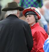 16 August 2009; Jockey Emmet McNamara. The Curragh Racecourse, Co. Kildare. Picture credit: Matt Browne / SPORTSFILE
