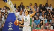 15 August 2009; Lindsay Peat, Ireland. Senior Women's European Championship Qualifier, Ireland v Montenegro, National Basketball Arena, Tallaght, Dublin. Picture credit: Stephen McCarthy / SPORTSFILE