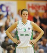 15 August 2009; Michelle Fahy, Ireland. Senior Women's European Championship Qualifier, Ireland v Montenegro, National Basketball Arena, Tallaght, Dublin. Picture credit: Stephen McCarthy / SPORTSFILE