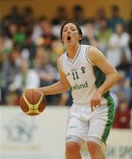 15 August 2009; Lindsay Peat, Ireland. Senior Women's European Championship Qualifier, Ireland v Montenegro, National Basketball Arena, Tallaght, Dublin. Picture credit: Stephen McCarthy / SPORTSFILE
