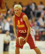 15 August 2009; Jelena Skerovic, Montenegro. Senior Women's European Championship Qualifier, Ireland v Montenegro, National Basketball Arena, Tallaght, Dublin. Picture credit: Stephen McCarthy / SPORTSFILE