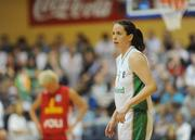 15 August 2009; Niamh Dwyer, Ireland. Senior Women's European Championship Qualifier, Ireland v Montenegro, National Basketball Arena, Tallaght, Dublin. Picture credit: Stephen McCarthy / SPORTSFILE