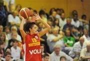 15 August 2009; Maja Milutinovic, Montenegro. Senior Women's European Championship Qualifier, Ireland v Montenegro, National Basketball Arena, Tallaght, Dublin. Picture credit: Stephen McCarthy / SPORTSFILE