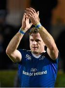 27 November 2015; Jamie Heaslip, Leinster, following his side's victory. Guinness PRO12, Round 8, Leinster v Ulster. RDS Arena, Ballsbridge, Dublin. Picture credit: Stephen McCarthy / SPORTSFILE