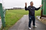 30 November 2015; Connacht head coach Pat Lam following a press conference. Sportsground, Galway. Picture credit: David Maher / SPORTSFILE