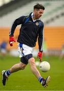 6 December 2015; Michael Darragh Macauley, Ballyboden St Enda's, warms up ahead of the game. AIB Leinster GAA Senior Club Football Championship Final, Portlaoise v Ballyboden St Enda's. O'Connor Park, Tullamore, Co. Offaly. Picture credit: Stephen McCarthy / SPORTSFILE