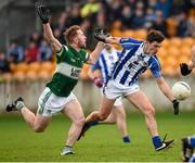 6 December 2015; Colm Basquel, Ballyboden St Enda's, in action against Cahir Healy, Portlaoise. AIB Leinster GAA Senior Club Football Championship Final, Portlaoise v Ballyboden St Enda's. O'Connor Park, Tullamore, Co. Offaly. Picture credit: Stephen McCarthy / SPORTSFILE