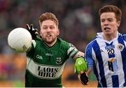 6 December 2015; Cahir Healy, Portlaoise, in action against Robbie McDaid, Ballyboden St Enda's. AIB Leinster GAA Senior Club Football Championship Final, Portlaoise v Ballyboden St Enda's. O'Connor Park, Tullamore, Co. Offaly. Picture credit: Stephen McCarthy / SPORTSFILE