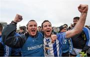 6 December 2015; Ballyboden St Enda's manager Andy McEntee and Stephen O'Connor celebrate at the end of the game. AIB Leinster GAA Senior Club Football Championship Final, Portlaoise v Ballyboden St Enda's. O'Connor Park, Tullamore, Co. Offaly. Picture credit: Stephen McCarthy / SPORTSFILE