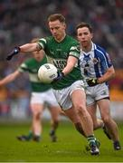 6 December 2015; Paul Cahillane, Portlaoise, in action against Stephen O'Connor, Ballyboden St Enda's. AIB Leinster GAA Senior Club Football Championship Final, Portlaoise v Ballyboden St Enda's. O'Connor Park, Tullamore, Co. Offaly. Picture credit: Ray McManus / SPORTSFILE