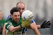 6 December 2015; Craig Rogers, Portlaoise, in action against Stephen Hiney, Ballyboden St Enda's. AIB Leinster GAA Senior Club Football Championship Final, Portlaoise v Ballyboden St Enda's. O'Connor Park, Tullamore, Co. Offaly. Picture credit: Stephen McCarthy / SPORTSFILE