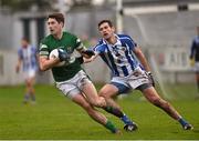 6 December 2015; Conor Boyle, Portlaoise, in action against Declan O'Mahoney, Ballyboden St Enda's. AIB Leinster GAA Senior Club Football Championship Final, Portlaoise v Ballyboden St Enda's. O'Connor Park, Tullamore, Co. Offaly. Picture credit: Stephen McCarthy / SPORTSFILE