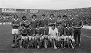 5 September 1976; The Cork team. All Ireland Senior Hurling Championship Final, Cork v Wexford, Croke Park, Dublin. Picture credit; Connolly Collection / SPORTSFILE