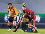 13 December 2015; Duane Vermeulen, Toulon, tussles with Mike McCarthy, Leinster. European Rugby Champions Cup,  Pool 5, Round 3, RC Toulon v Leinster. Stade Felix Mayol, Toulon, France. Picture credit: Stephen McCarthy / SPORTSFILE