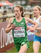 13 December 2015; Ireland's Fionnuala McCormack on her way to a 4th place finish in the Senior Women's event. SPAR European Cross Country Championships Hyeres 2015. Paray Le Monial, France Picture credit: Cody Glenn / SPORTSFILE