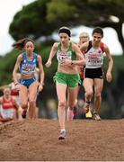 13 December 2015; Ireland's Lizzie Lee on her way to a 13th place finish in the Senior Women's event. SPAR European Cross Country Championships Hyeres 2015. Paray Le Monial, France Picture credit: Cody Glenn / SPORTSFILE