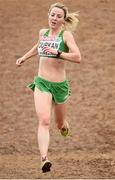 13 December 2015; Ireland's Ciara Durkan on her way to a 43rd place finish in the Senior Women's event. SPAR European Cross Country Championships Hyeres 2015. Paray Le Monial, France Picture credit: Cody Glenn / SPORTSFILE