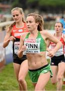 13 December 2015; Ireland's Michele Finn on her way to a 54th place finish in the Senior Women's event. SPAR European Cross Country Championships Hyeres 2015. Paray Le Monial, France Picture credit: Cody Glenn / SPORTSFILE
