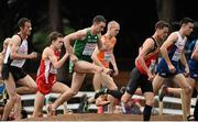 13 December 2015; Ireland's John Coghlan, centre, competes in the Senior Men's event. SPAR European Cross Country Championships Hyeres 2015. Paray Le Monial, France Picture credit: Cody Glenn / SPORTSFILE