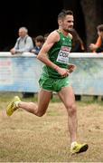 13 December 2015; Ireland's Sergiu Ciabanu competes in the Senior Men's event. SPAR European Cross Country Championships Hyeres 2015. Paray Le Monial, France Picture credit: Cody Glenn / SPORTSFILE