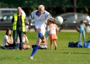 12 September 2009; Mark Vaughan, Dublin, in action at the MBNA Kick Fada. MBNA Kick Fada, Bray Emmets GAA Club, Co. Wicklow. Picture credit: Pat Murphy / SPORTSFILE