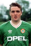 1991; Paul McCarthy, Republic of Ireland, Soccer. Picture credit; David Maher/SPORTSFILE
