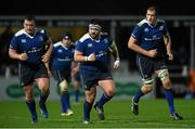 1 January 2016; Leinster players, from left, Jack McGrath, Marty Moore, and Devin Toner. Guinness PRO12 Round 11, Leinster v Connacht. RDS Arena, Ballsbridge, Dublin. Picture credit: Brendan Moran / SPORTSFILE