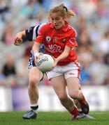 27 September 2009; Rhona Ní Bhuachalla, Cork. TG4 All-Ireland Ladies Football Senior Championship Final, Cork v Dublin, Croke Park, Dublin. Picture credit: Stephen McCarthy / SPORTSFILE