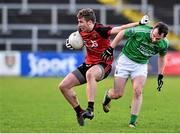 10 January 2016; Barry O'Hagan, Down, in action against Paul McCusker, Fermanagh. Bank of Ireland Dr. McKenna Cup, Group B, Round 2, Down v Fermanagh, Páirc Esler, Newry, Co. Down. Picture credit: Mark Marlow / SPORTSFILE