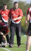 5 October 2009; Ulster's Jeremy Davidson, assistant Coach, during squad training in preparation for the forthcoming Heineken Cup game Ulster V Bath. Newforge Country Club, Belfast. Picture credit: Oliver McVeigh / SPORTSFILE