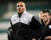 9 October 2009; Curtis Fleming, Republic of Ireland U-21 coach. UEFA European U21 Championship Qualifier, Tallaght Stadium, Tallaght, Dublin. Picture credit: Matt Browne / SPORTSFILE