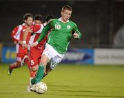 9 October 2009; James McCarthy, Republic of Ireland. UEFA European U21 Championship Qualifier, Tallaght Stadium, Tallaght, Dublin. Picture credit: Matt Browne / SPORTSFILE
