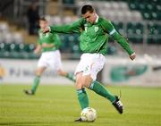 9 October 2009; Owen Garvan, Republic of Ireland. UEFA European U21 Championship Qualifier, Tallaght Stadium, Tallaght, Dublin. Picture credit: Matt Browne / SPORTSFILE
