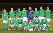 9 October 2009; The Republic of Ireland team. UEFA European U21 Championship Qualifier, Tallaght Stadium, Tallaght, Dublin. Picture credit: Matt Browne / SPORTSFILE