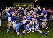18 October 2009;  Dromore celebrate after winning the Tyrone County Senior Football Final, Dromore v Ardboe, Healy Park, Omagh, Co. Tyrone. Picture credit: Michael Cullen / SPORTSFILE