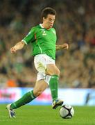 10 October 2009; Sean St. Ledger, Republic of Ireland. 2010 FIFA World Cup Qualifier, Republic of Ireland v Italy, Croke Park, Dublin. Picture credit: Brendan Moran / SPORTSFILE